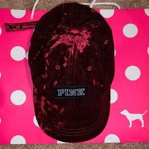 PINK Victoria's Secret Accessories - PINK Velvet Hat